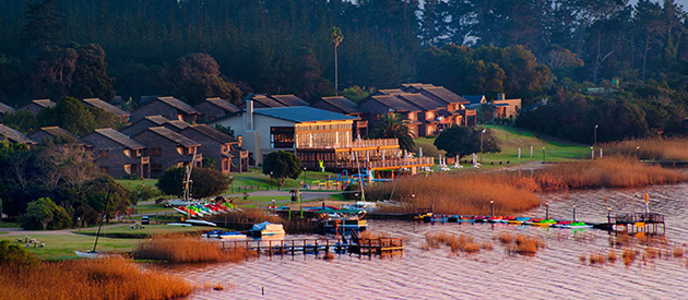 pine lake marina in sedgefield, accommodation, garden route, western cape, south africa