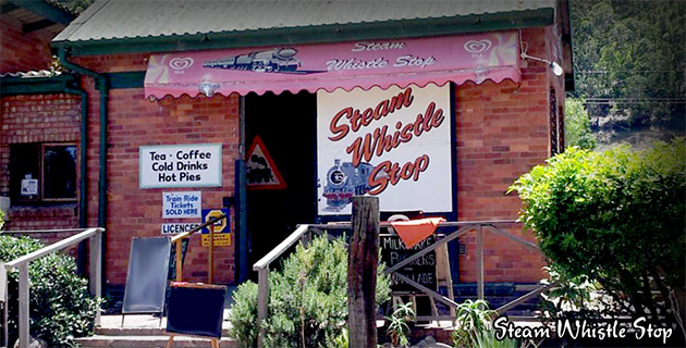 Steam Whistle Stop Cafe, Sedgefield